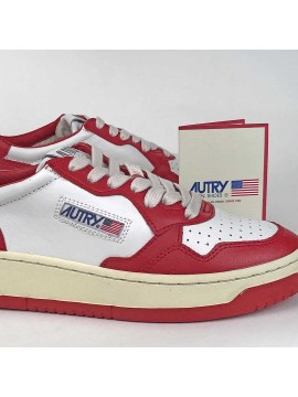 Sneaker Autry White/Red
