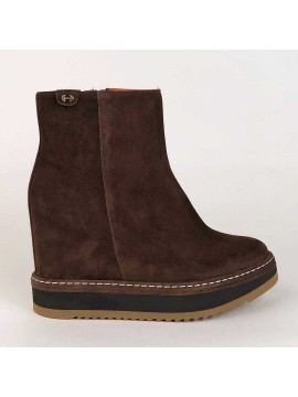 Belle Vie ankle boot Via Roma chocolate brown